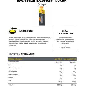 PowerBar PowerGel Hydro Box 24 x 67ml, Orange